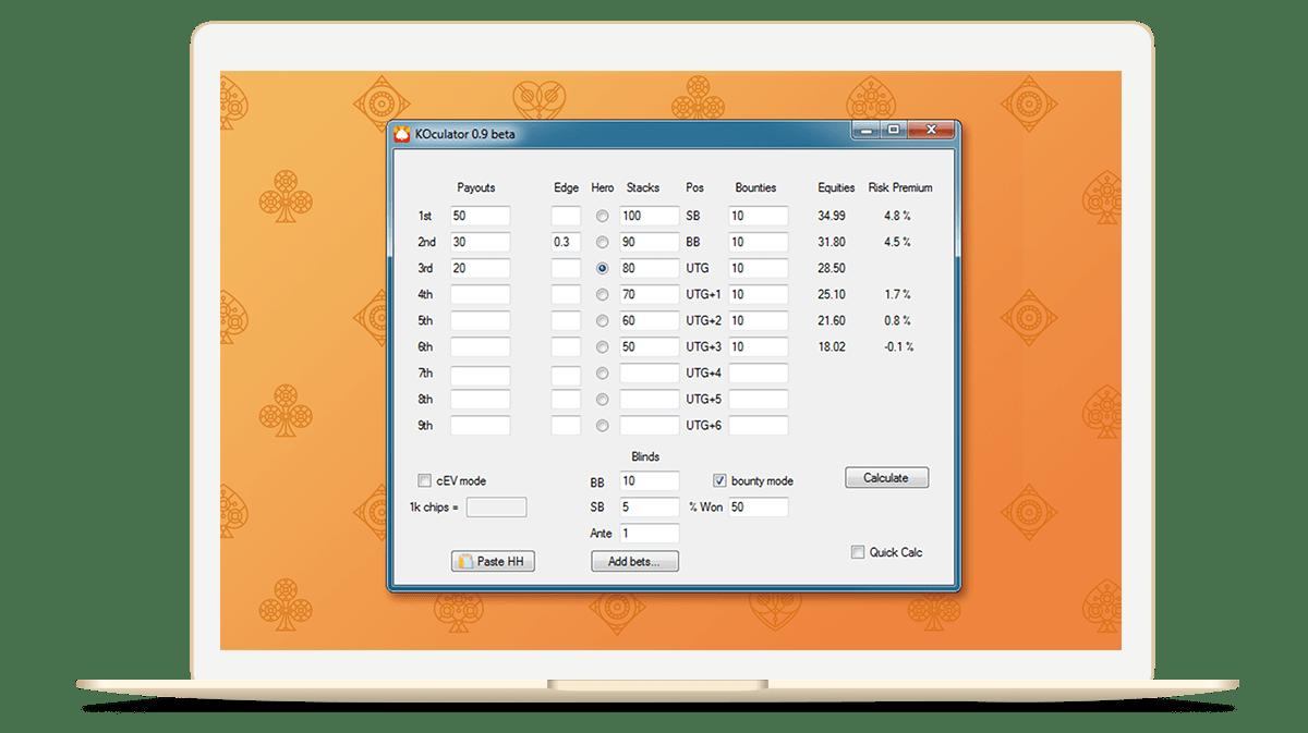 Koculator screenshot 1